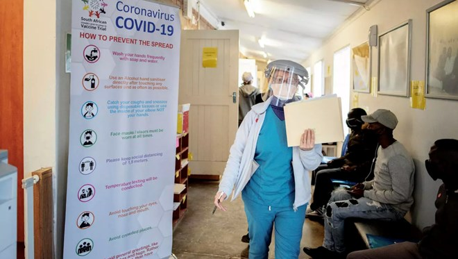 At least 240 South African health workers have died of coronavirus out of the more than 27,000 infected in the line of duty Luca Sola AFP/File
