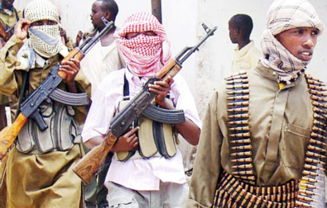 A file photo of Al shabaab Militia. Image: FILE