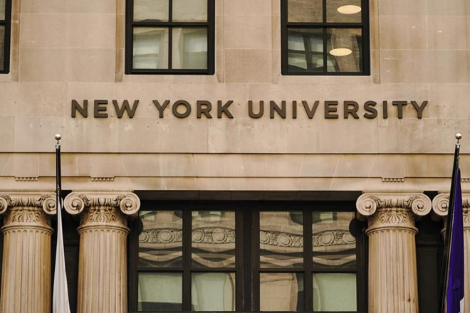 A view of New York University (NYU). Like many universities, NYU would be affected by a proposed ... [+] SOPA IMAGES/LIGHTROCKET VIA GETTY IMAGES
