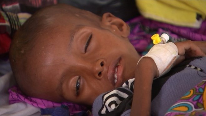 Somaliland is on the brink of starvation. Credit: ITV News