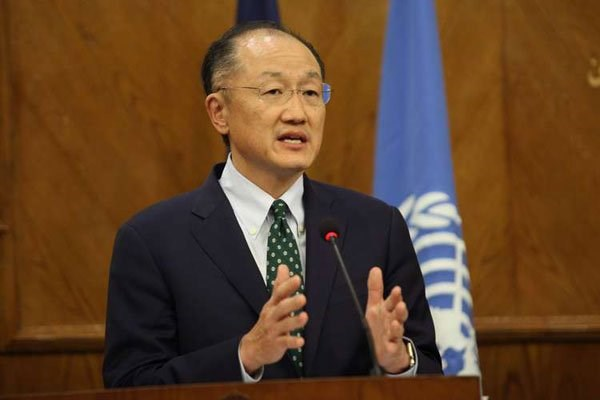 World Bank President Jim Yong Kim. The banks has announced $57 billion in financing for Africa. PHOTO | AFP
