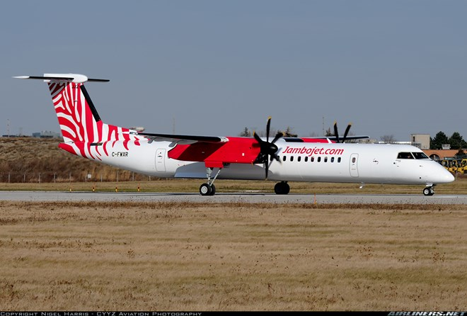 Bombardier DHC-8-402 Q400 - Jambojet Airline