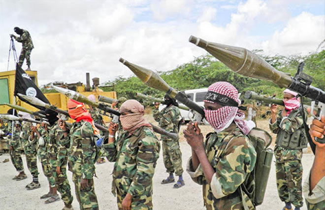 Al Shabaab members - Image: FILE