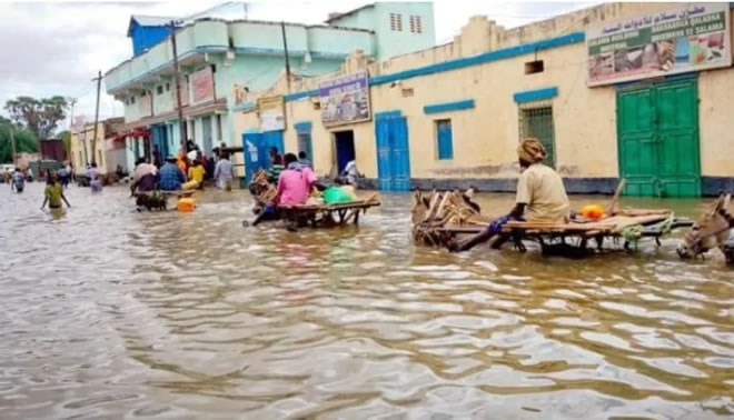 Flooding in Somalia has displaced 273,000 people. Edmontonians are meeting this weekend to plan fundraisers to help people affected by flooding in East Africa. (International Rescue Committee)